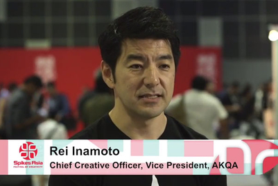 Spikes video: Talking brand/agency relationship with Rei Inamoto