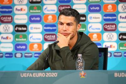 Evian capitalises on Cristiano Ronaldo's Coca-Cola snub