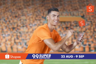 Ronaldo's Shopee ad is gloriously ridiculous