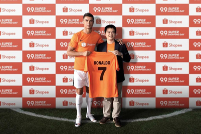 Shopee signs Ronaldo