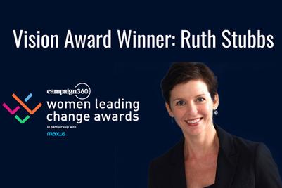 Video: Ruth Stubbs on her Women Leading Change Award