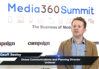 Video: Unilever's Geoff Seeley on the content opportunity