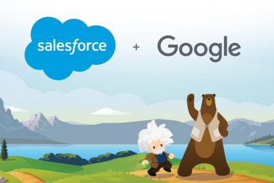 Salesforce Sales Cloud integrates with Google Analytics 360