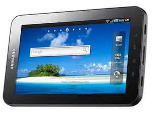 Samsung unveils iPad rival Galaxy Tab
