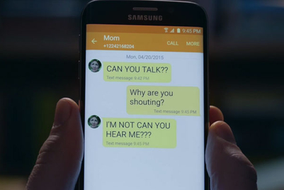 Ad Nut: Samsung says call your mum, and more of the week's best ads