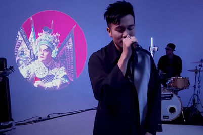 Cantopop and Cantonese opera mesh surprisingly well in this 'live jam' for Samsung