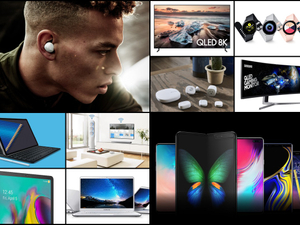 All over the (electronics) shop, Samsung garners allegiance