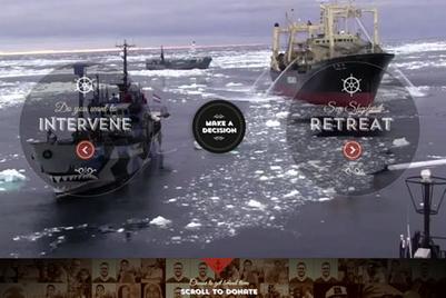 Sea Shepherd website puts public in midst of anti-whaling action