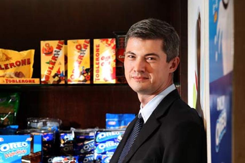 Shawn Warren, VP marketing for Kraft Foods Asia-Pacific.