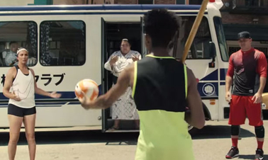 'Short a guy' is jubilant brilliance from Nike and W+K