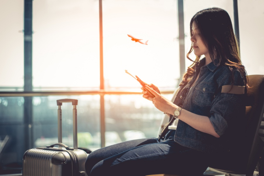Are you more 'productive' and 'creative' when travelling for work?