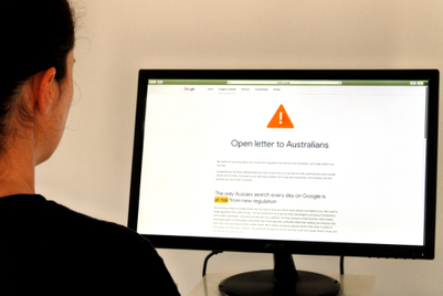 Google tests hiding news outlets in search in Australia