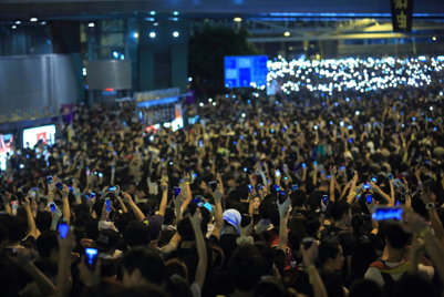Protest censorship seeps into Hong Kong, says privacy advocate
