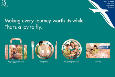 SilkAir's latest campaign leaves room for more