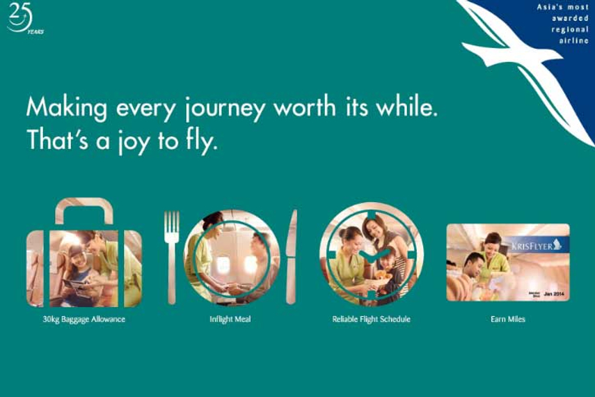 Silk Air is celebrating its 25th anniversary
