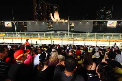 SingTel brings Angry Birds to F1 Singapore