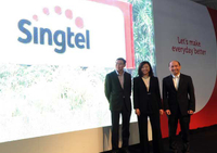 Five dots and a small 't': Singtel unveils new brand identity