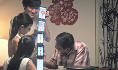 Bang! Pop! Singtel lights virtual firecracker strings for CNY