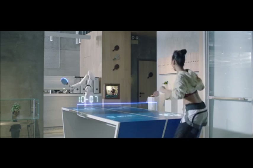 In a campaign by M&C Saatchi Spencer Hong Kong, SmarTone suggests that it will involve playing table tennis against robots and painting skyscrapers with blasts from a smartphone.
