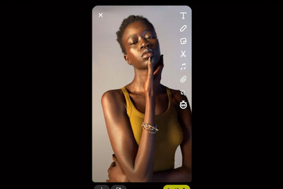 Snapchat launches camera tailored to darker skin tones at annual summit