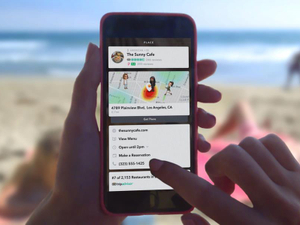 Brands can now embed more info into Snapchat with Context Cards