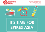 It's time to buy your tickets for Spikes Asia