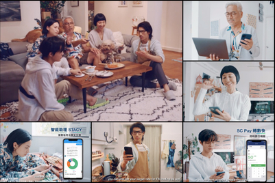 Standard Chartered shows empathy with homebound families (and also promotes its apps)