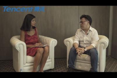 与腾讯合作制作的戛纳视频访问集锦:郑香霖