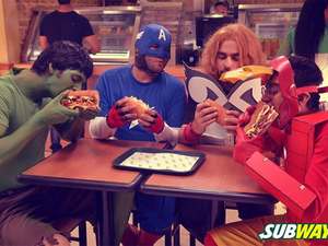 Engagement Meter: Mangoes, handcrafted beverages and sandwich Avengers