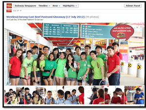 Case Study: Subway Singapore sends fans on a hunt for free sandwiches