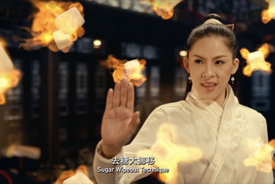 Singapore calls in kung fu master to fight 'sugar villains'