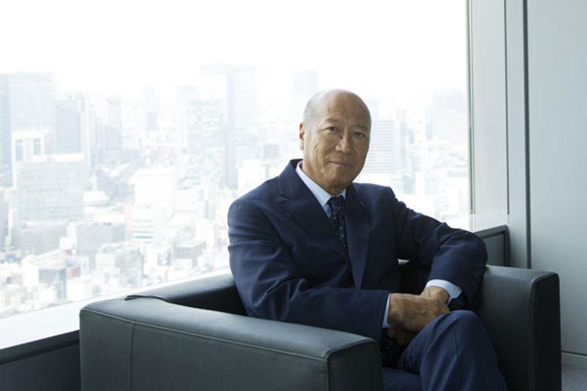Tadashii Ishii, president and CEO, Dentsu Inc