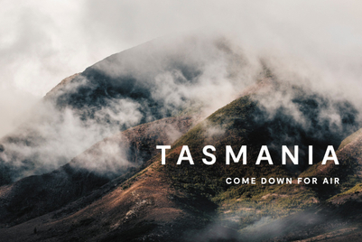 Tasmania invites world to 'Come down for air'