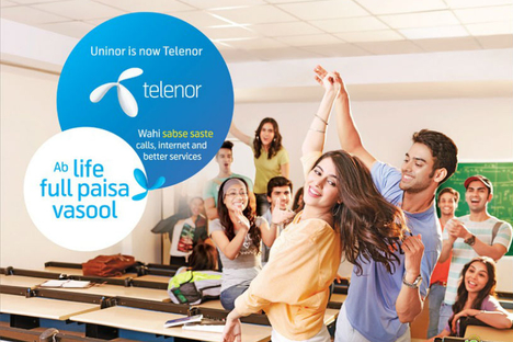 OMD wins Telenor in India and Pakistan