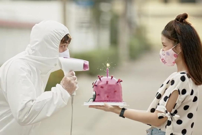 Post-lockdown health measures get the Thai creative treatment
