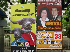 Election helps boost ad spend in Thailand