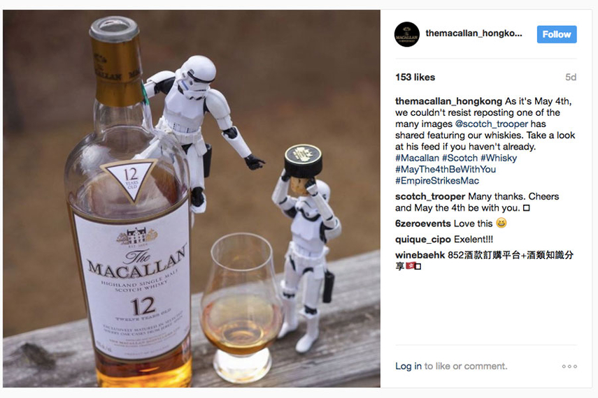 Alcohol sector: Social-media trends and top content
