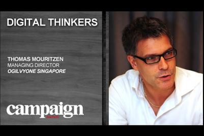 Digital Thinkers: Thomas Mouritzen, managing director, Ogilvy One Singapore
