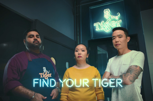 The Tiger that meows politely and tries to make you laugh