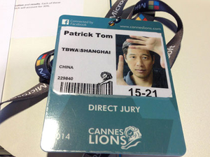 Jury notes from Cannes: Direct category a little fuzzy, but that's a good thing