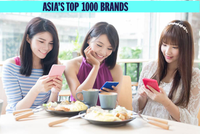 Upwardly mobile: the brands scoring phone users' attention