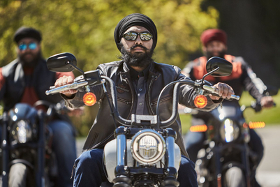 The 'Tough Turban': Protective headwear for Sikh motorcyclists