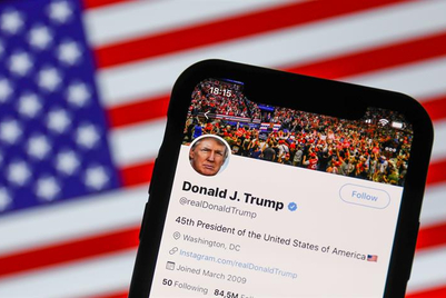 Should social media companies alone have the power to ban Donald Trump?