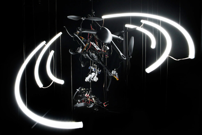 Exploded drone entices students to engineering
