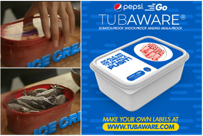 How reuse of ice cream tubs became a branding opportunity for Pepsi