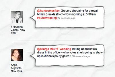 Euro RSCG launches three-day royal wedding 'tweetup'
