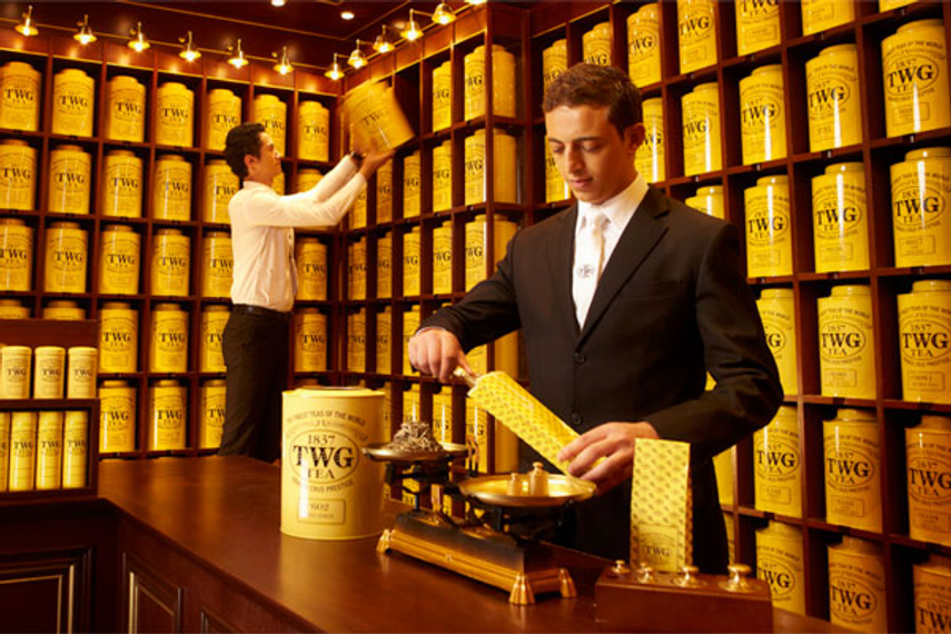 Asian Champions of Design: TWG Tea