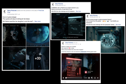 Real-time Facebook game brings fans into 'Underworld'