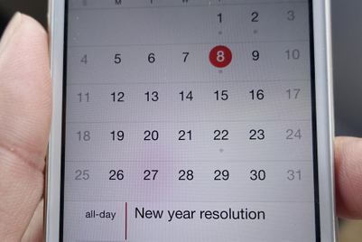 The magnificent seven New Year's resolutions
