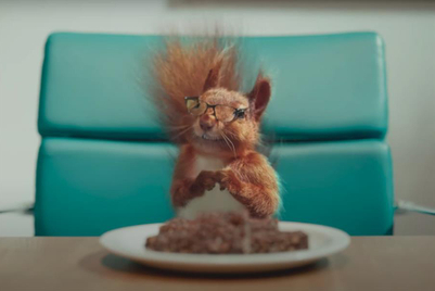 Unilever snack brand names talking squirrel as 'CEO'